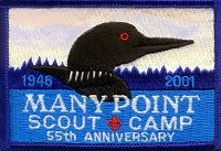 2001 Many Point Patch - As seen in Direct Sunlight