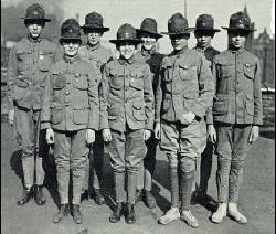 Scouts in Uniform around 1918