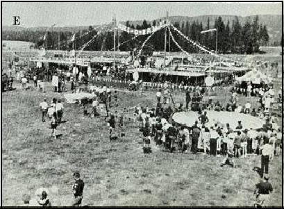Skill-O-Rama display was one of the many features at the 1973 Jamboree in Farragut, Idaho.