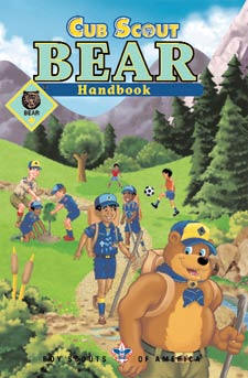 Bear Cub Scout Handbook - click for rank details